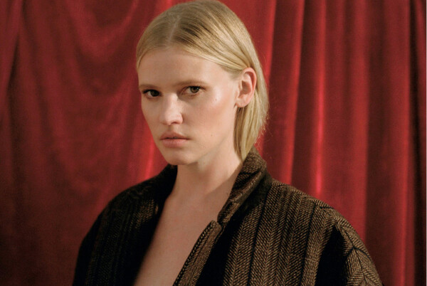 Lara Stone x T Magazine